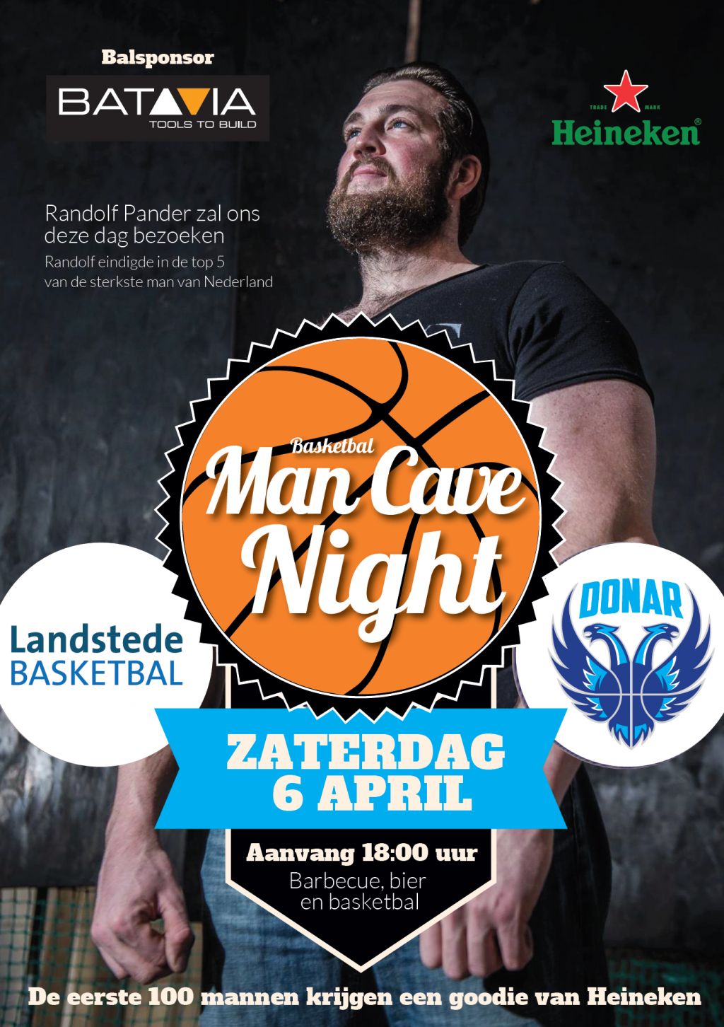 Mancave Night Landstede Basketbal 6 april
