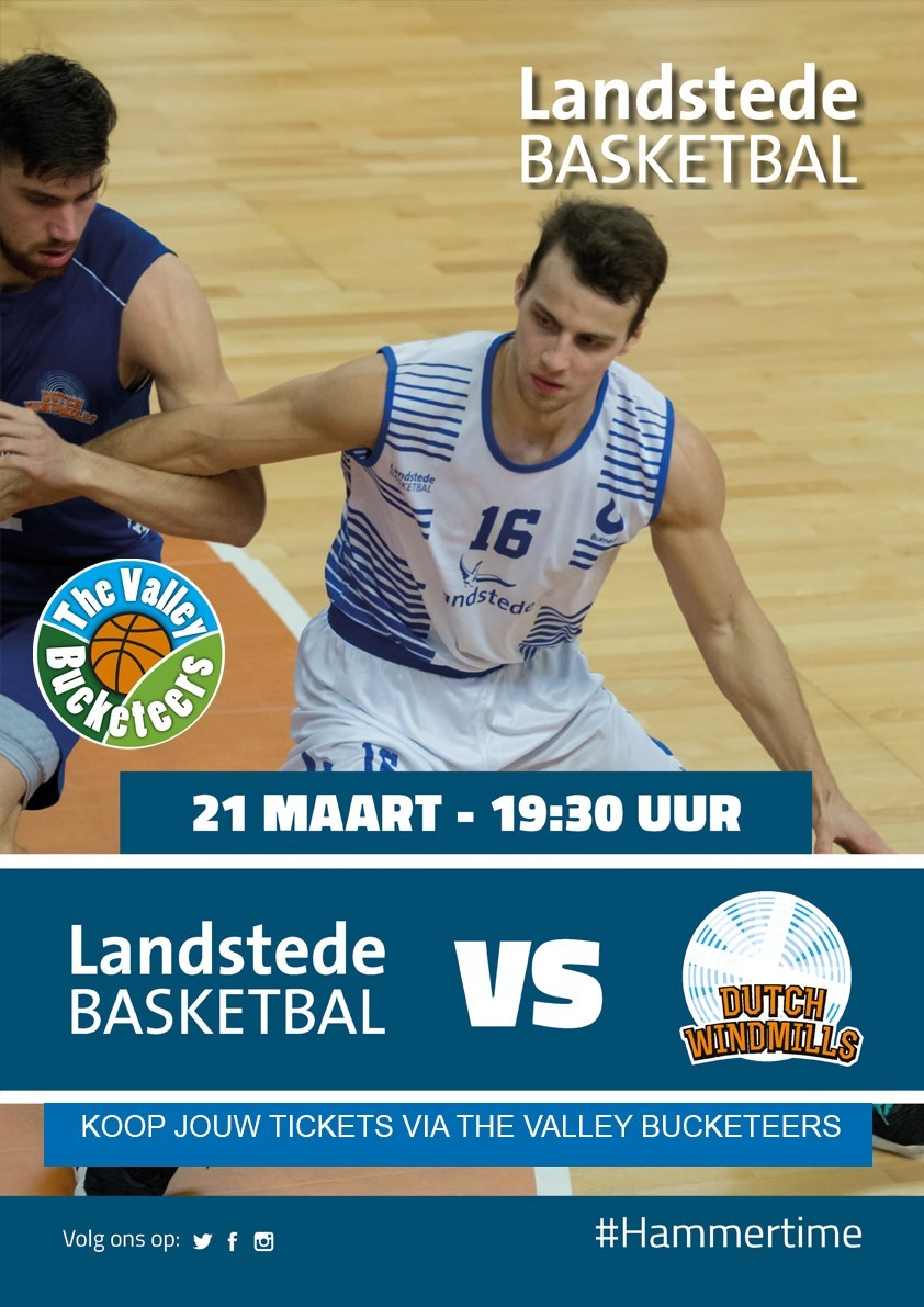 Landstede Basketbal - Dutch Windmills